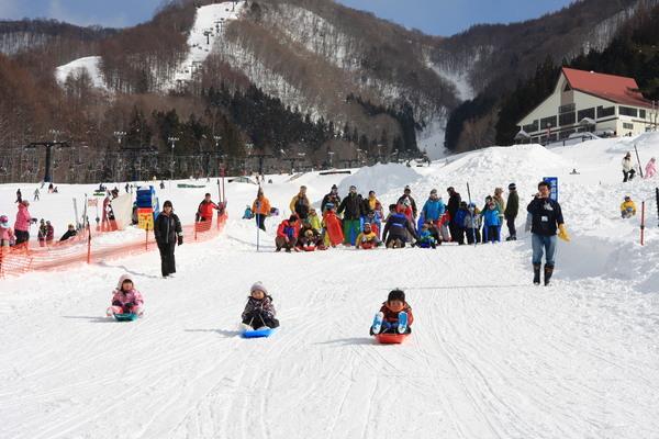 群馬水上寶台樹滑雪場