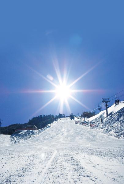 井川滑雪場腕山