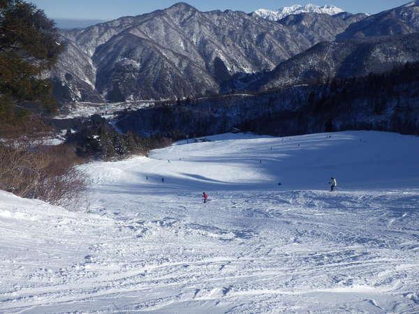 立山山麓滑雪場(雷鳥谷和極樂阪)